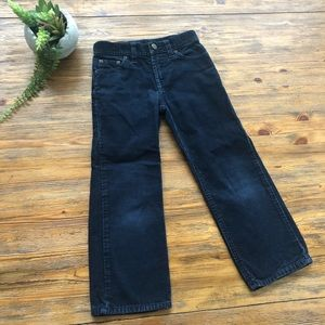 Polo Navy Corduroy Pants
